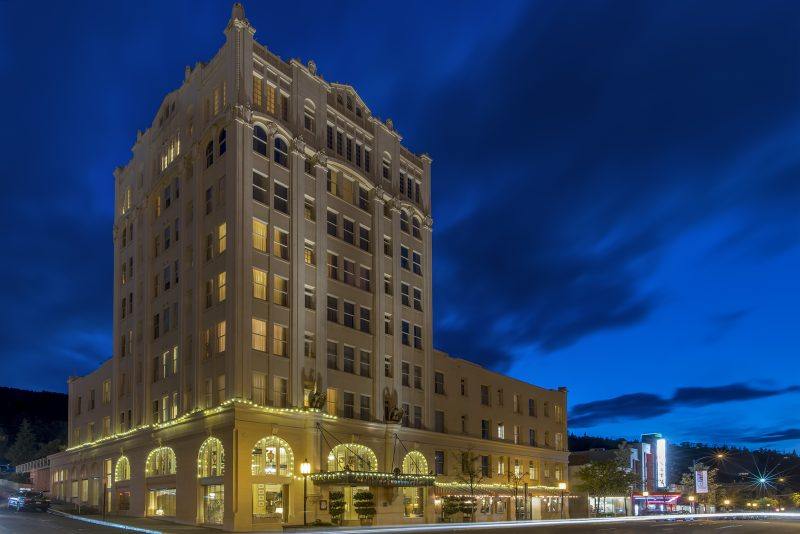 ashland springs hotel blue hour