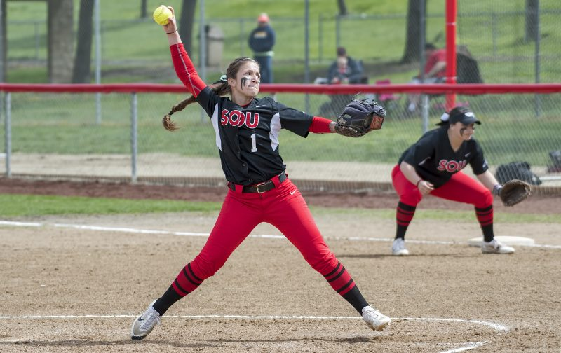 sou softball Lacie Crawford
