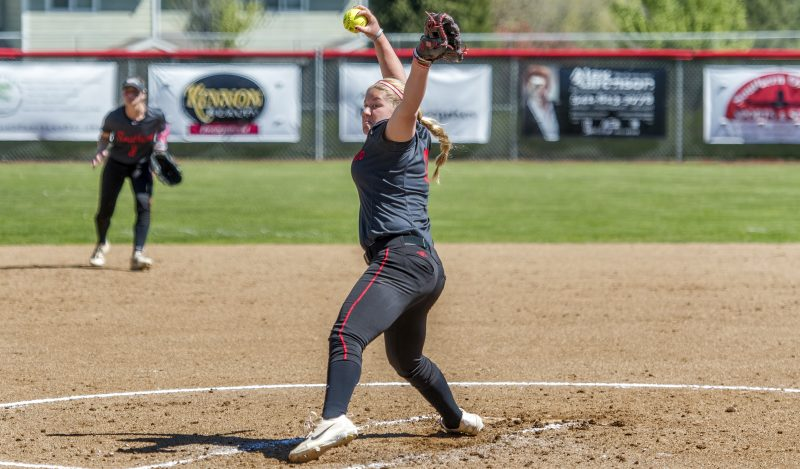 sou softball Karlee Coughlin
