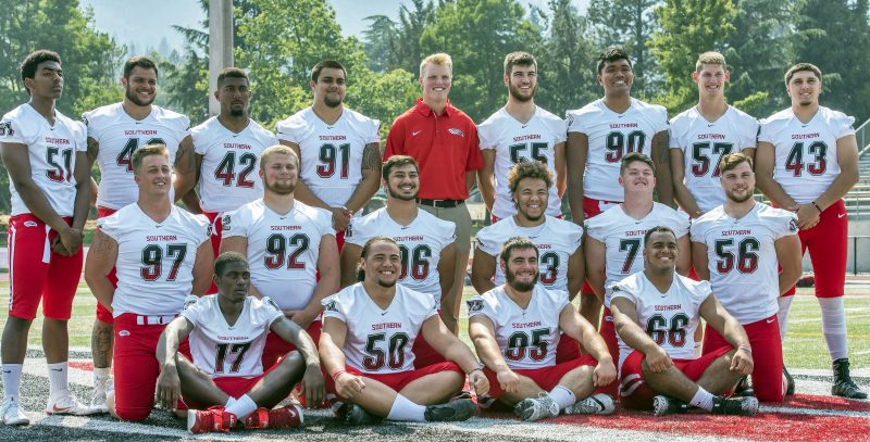 sou football team d-line