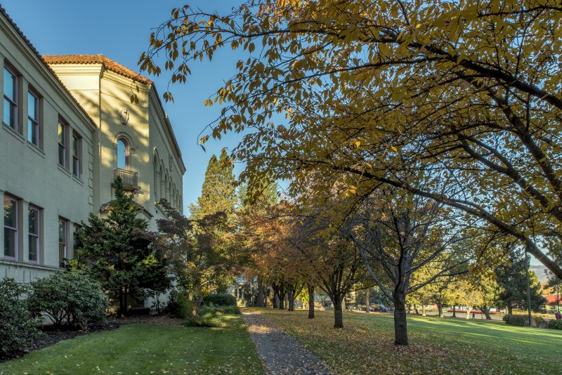 november 10 sou campus fall autumn churchill hall