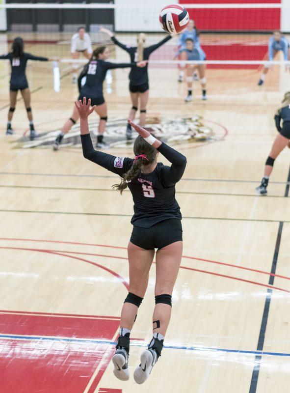 sou volleyball Ariana Sattler
