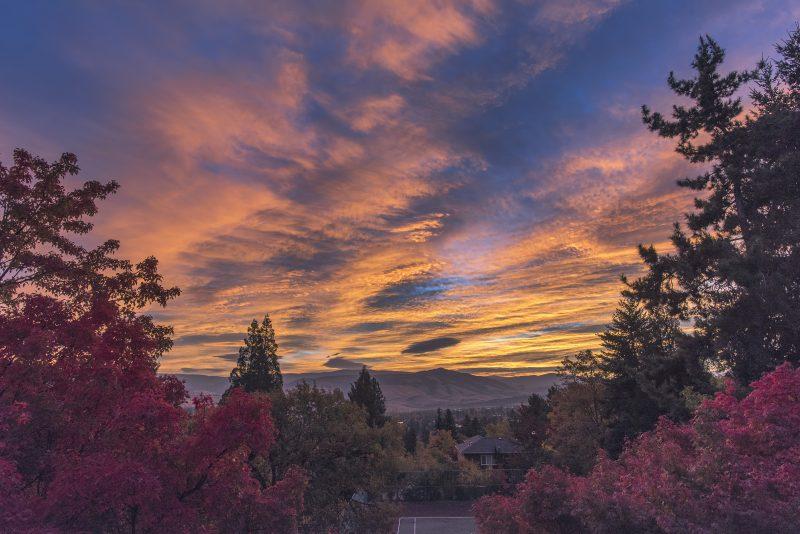 ashland sunrise oregon