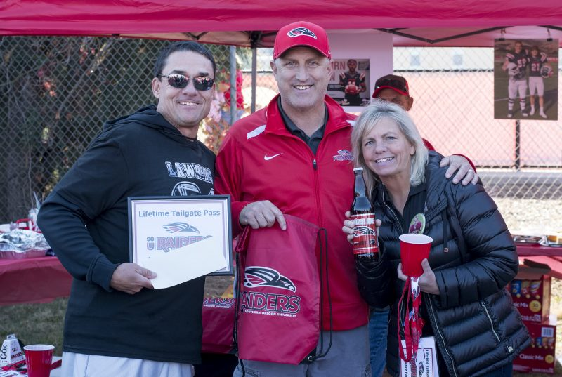 sou football senior day lawrence beagle