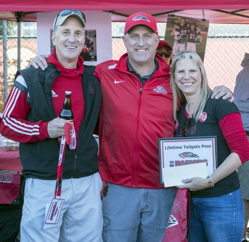 sou football senior day beagle dom
