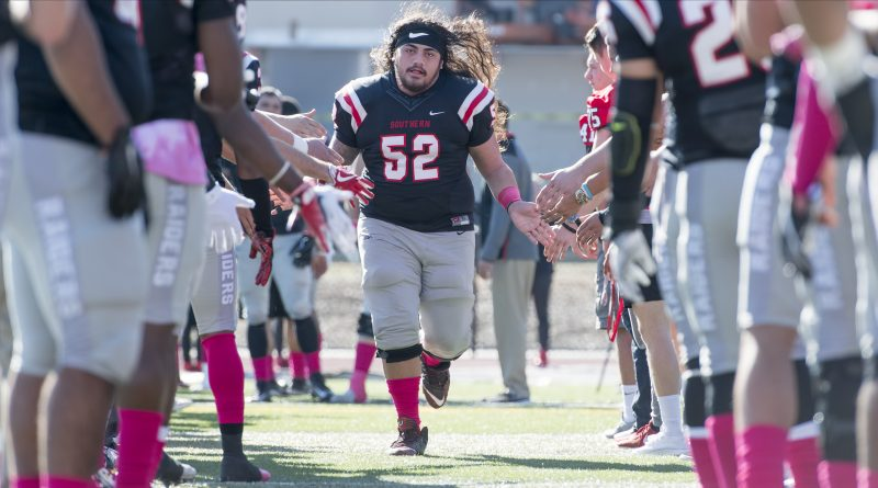sou football senior day christmas aumua