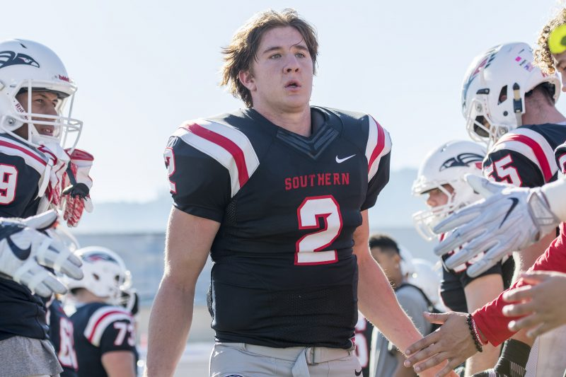 sou football senior day tanner trosin