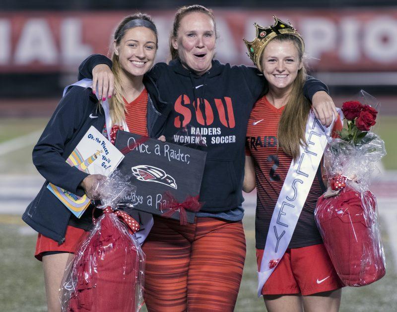 sou womens soccer jenni rosenberg kelsey randall Jacqueline Laird