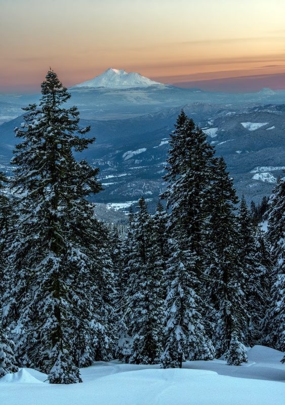 white christmas mt ashland shasta