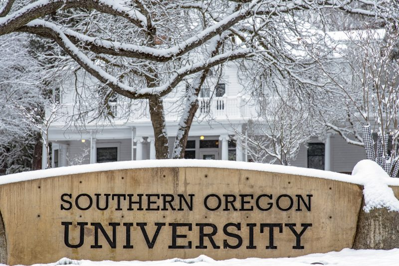 sou snow ashland oregon