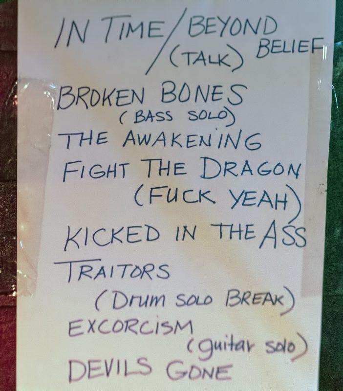 cruella rogue theatre setlist