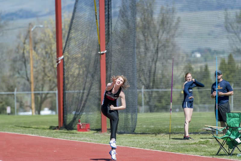 sou track and field javelin loghan sprauer