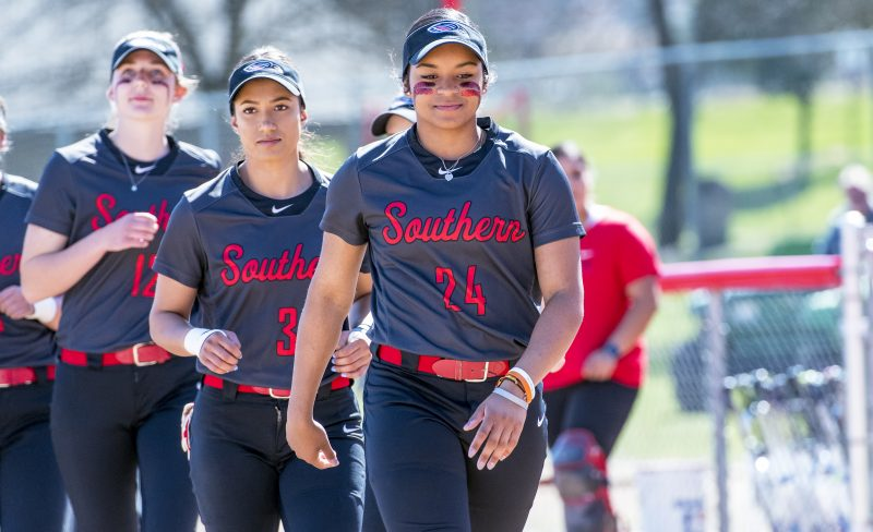 sou softball Kristen Mauroschadt Tiana Brown
