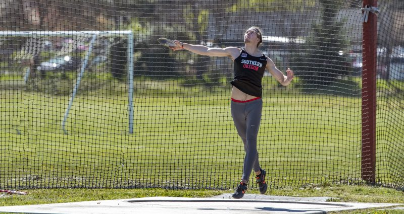 sou track and field discus joe dotson