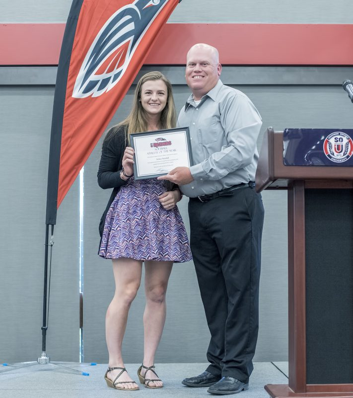 2017 black and red all-sports awards kelsey randall