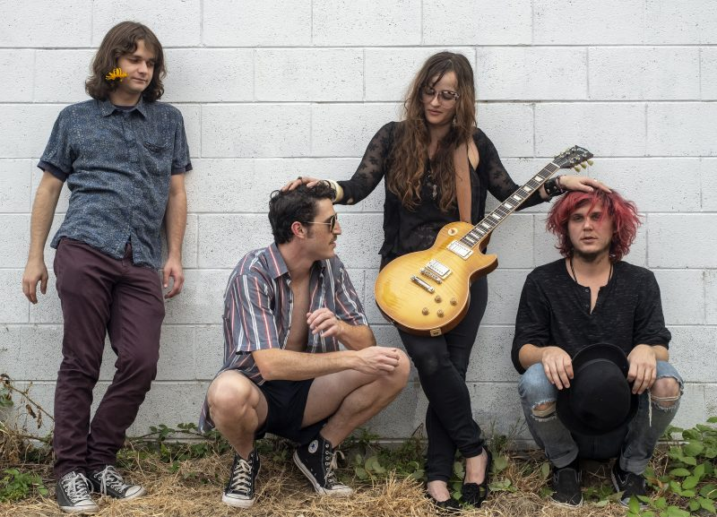 Brynna dean Casey Julian Minnic Jerry Burke-Perez Laramie Crow @PHXClubhouse @music_crow the shaky harlots phoenix clubhouse