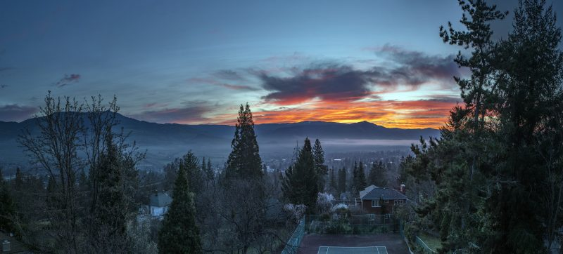 10-photo photomerge panorama ashland sunrise