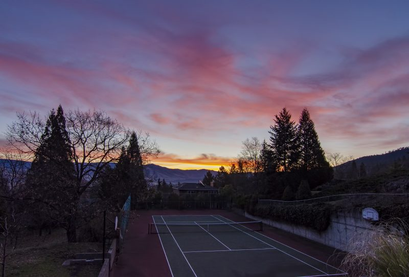 ashland sunrise tennis court