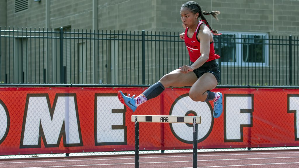 sou track and field arianna daniel