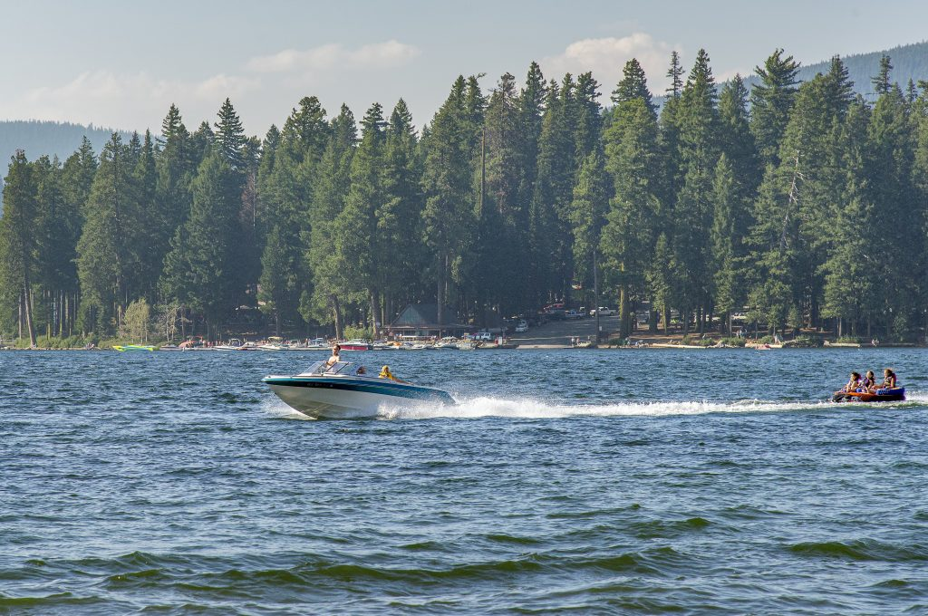 Speed Inflatable Water Rider Tube Boat Towable lake of the woods chris stanek