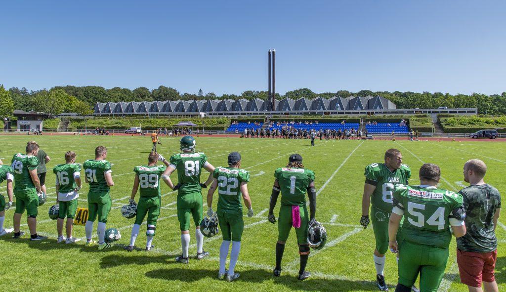 isiah carter oaks danish football american Rundforbi Stadion