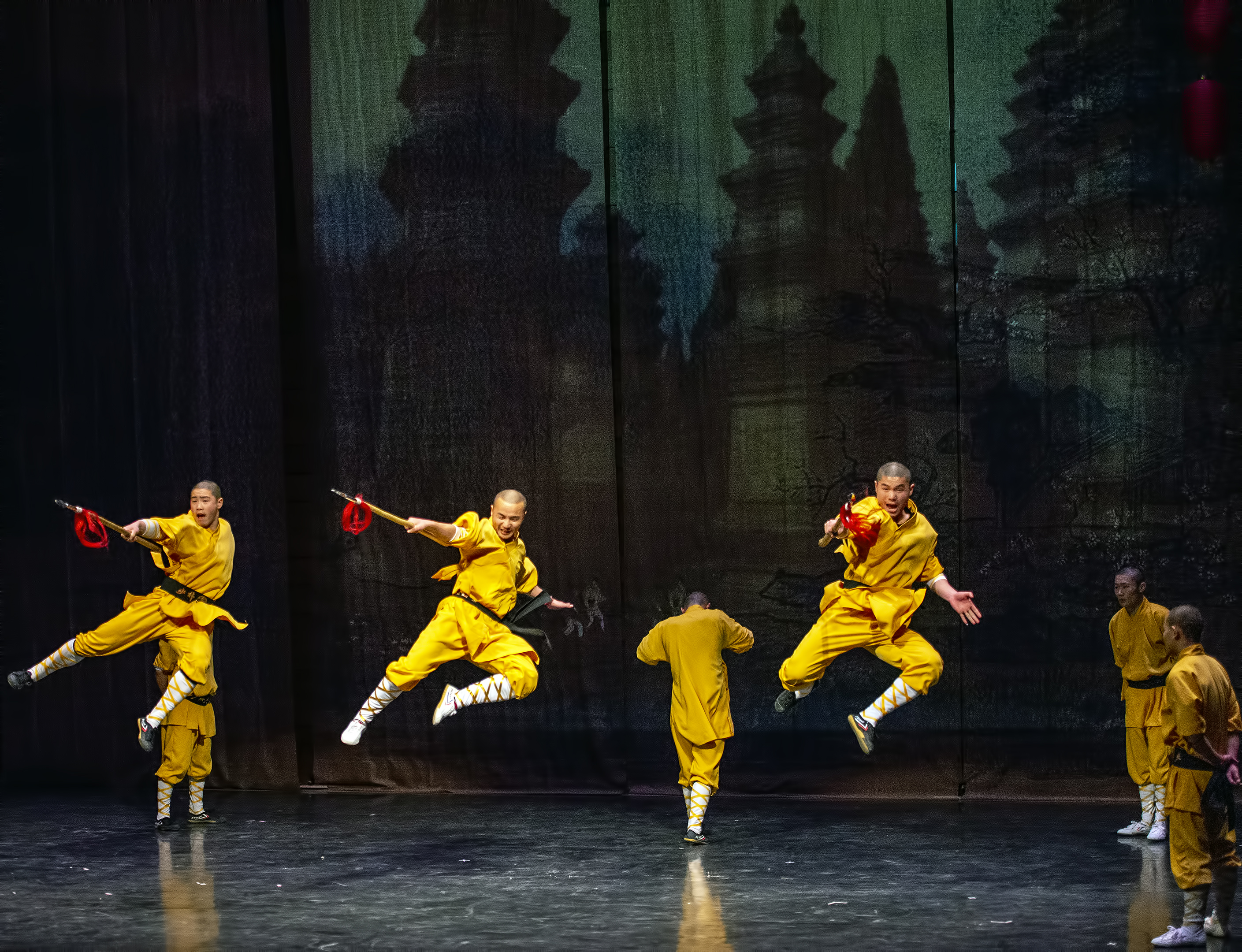 sou shaolin temple monks kung fu