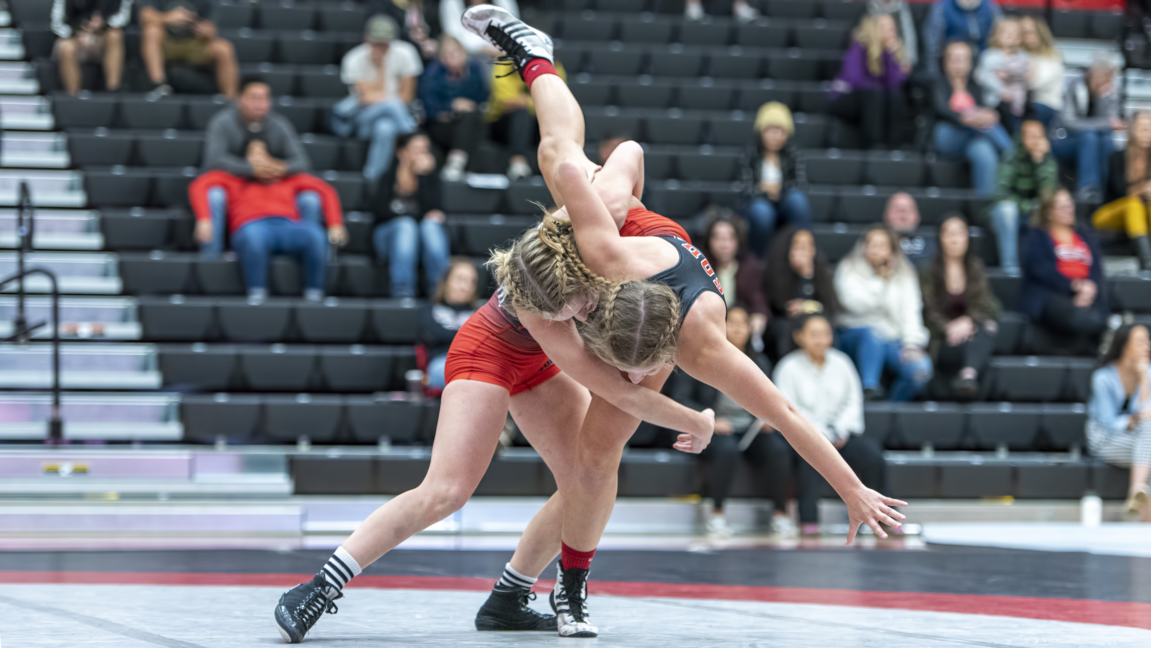 sou womens wrestling macie stewart karly scott