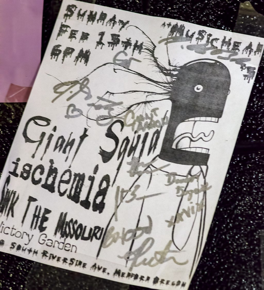 giant squid poster musichead ischemia sink the missouri