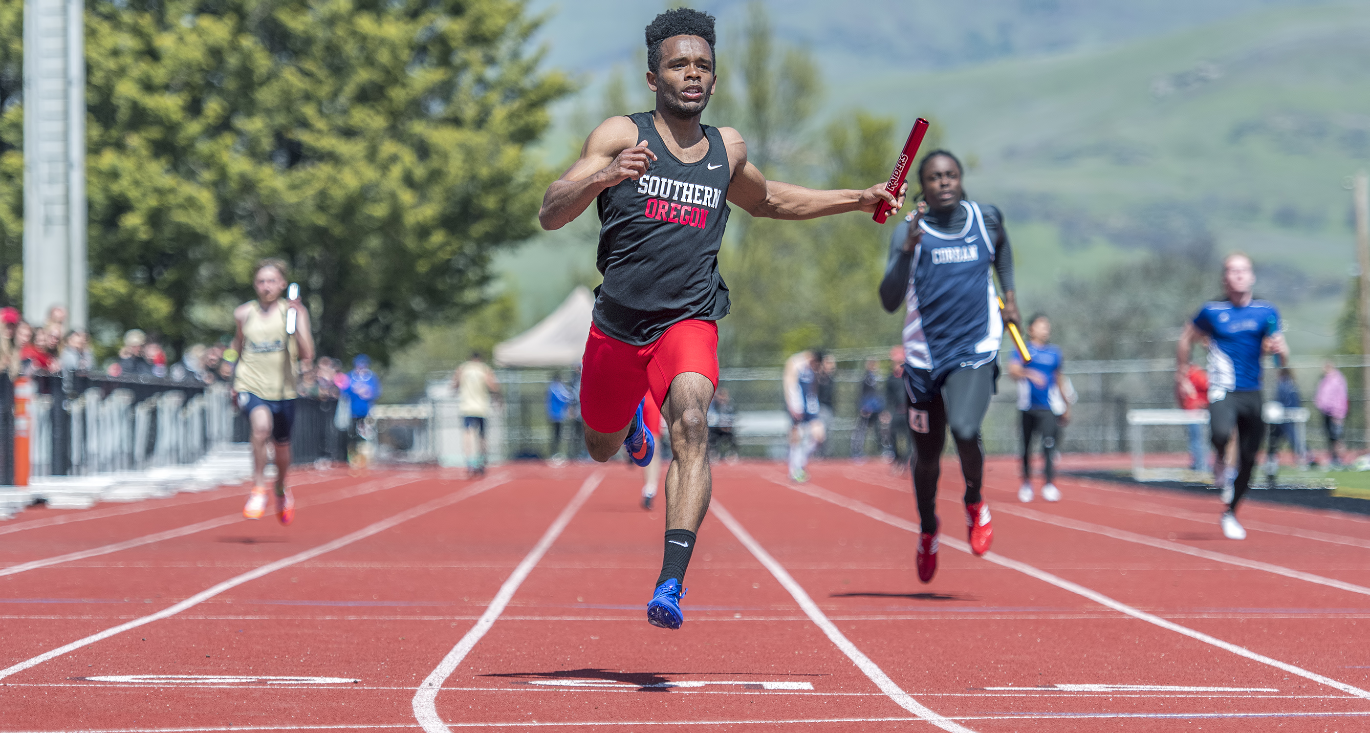 sou track and field Cameron Bremner