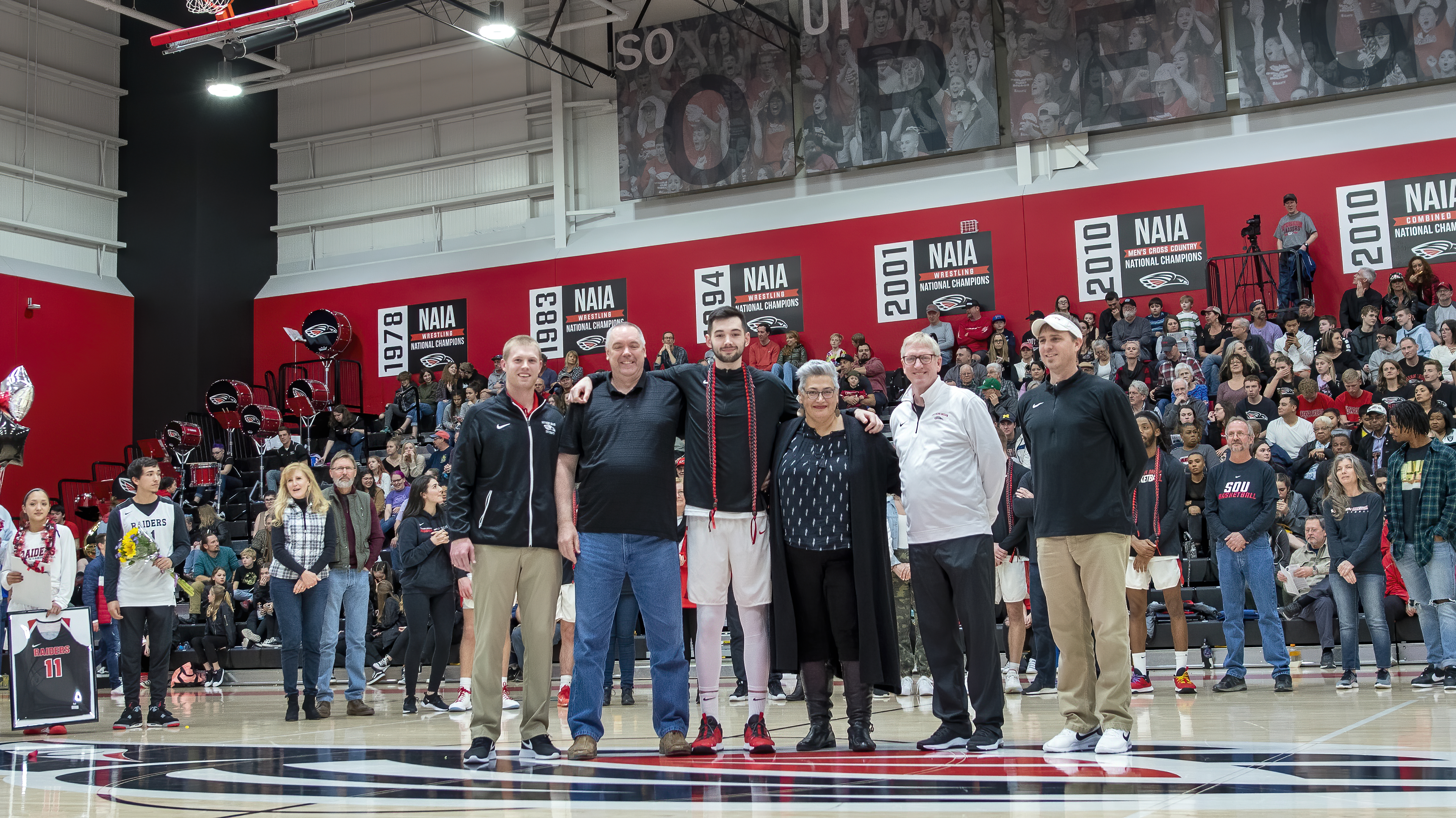 sou mens basketball senior night jordan hunt topaz ai denoise
