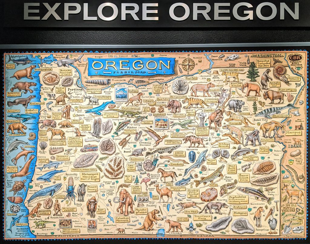 Museum of Natural and Cultural History university of oregon explore fossil map ray troll topaz ai denoise