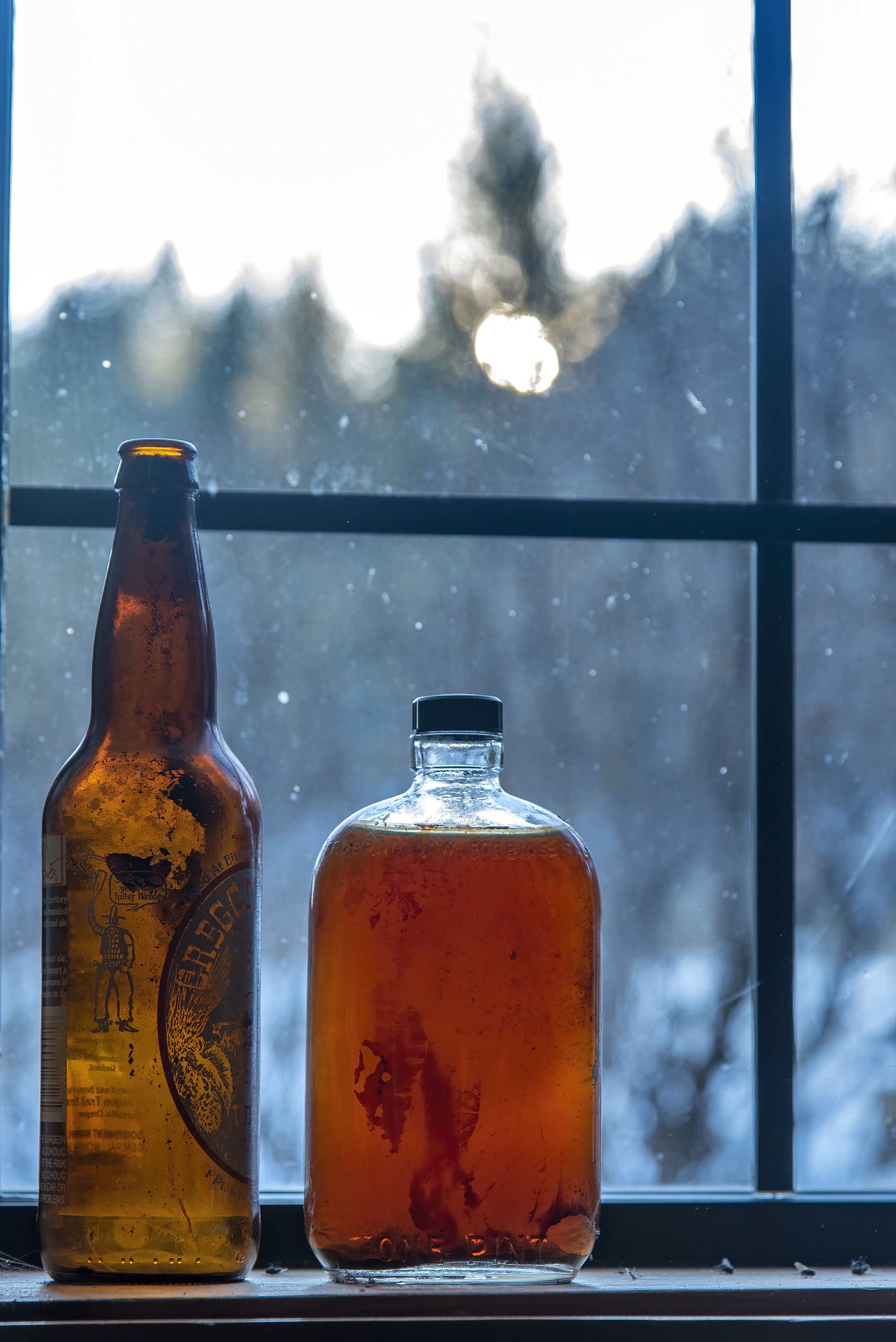sycan ranch beatty bottles winter topaz denoise ai-denoise