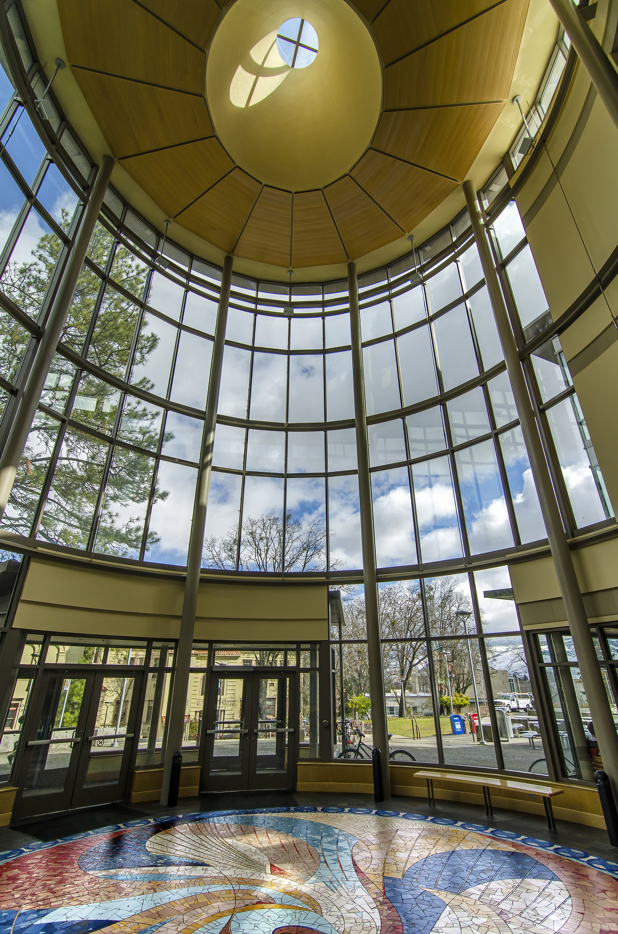 sou campus ashland Hannon Library Rotunda atrium