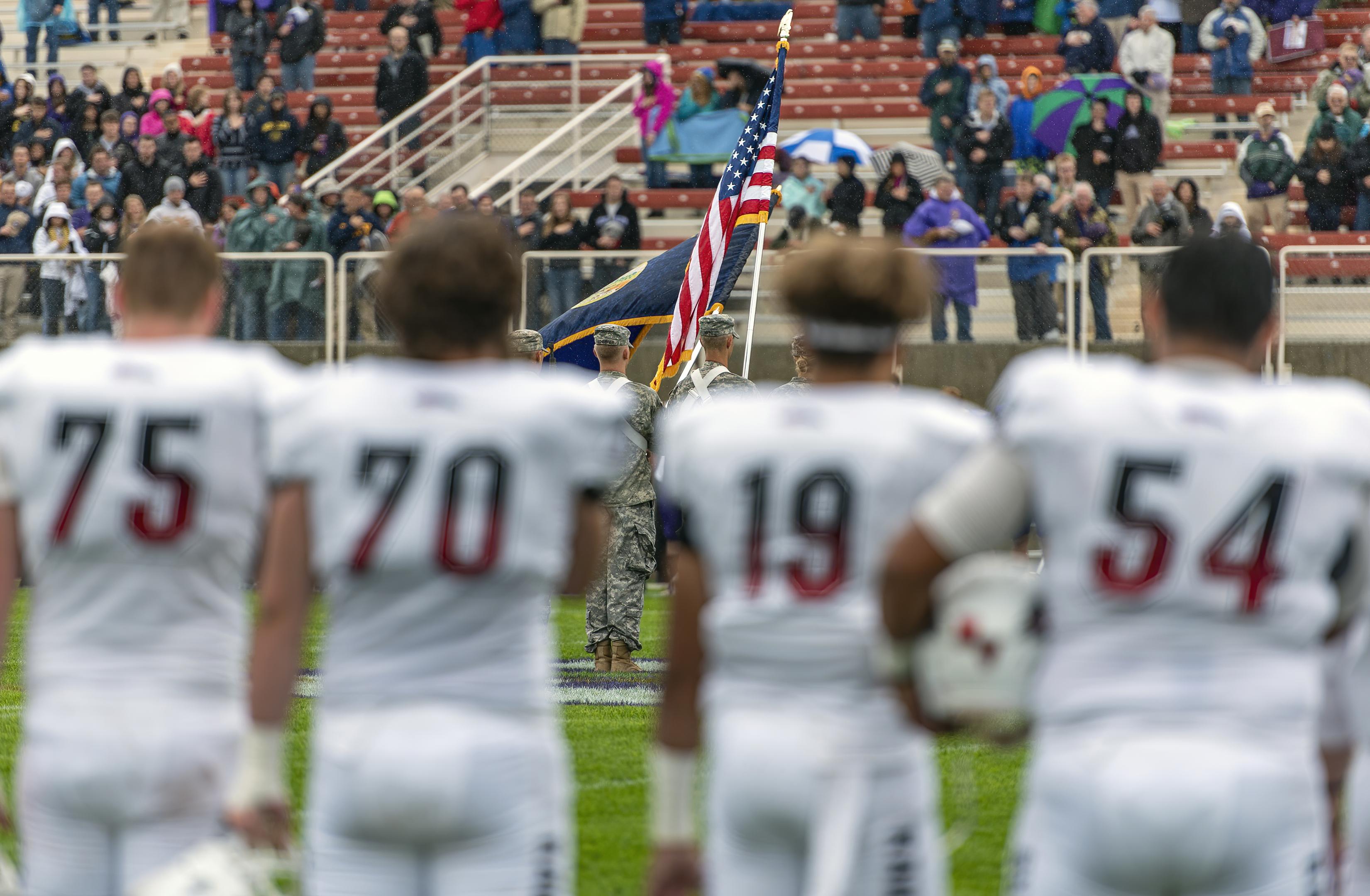 sou football american flag
