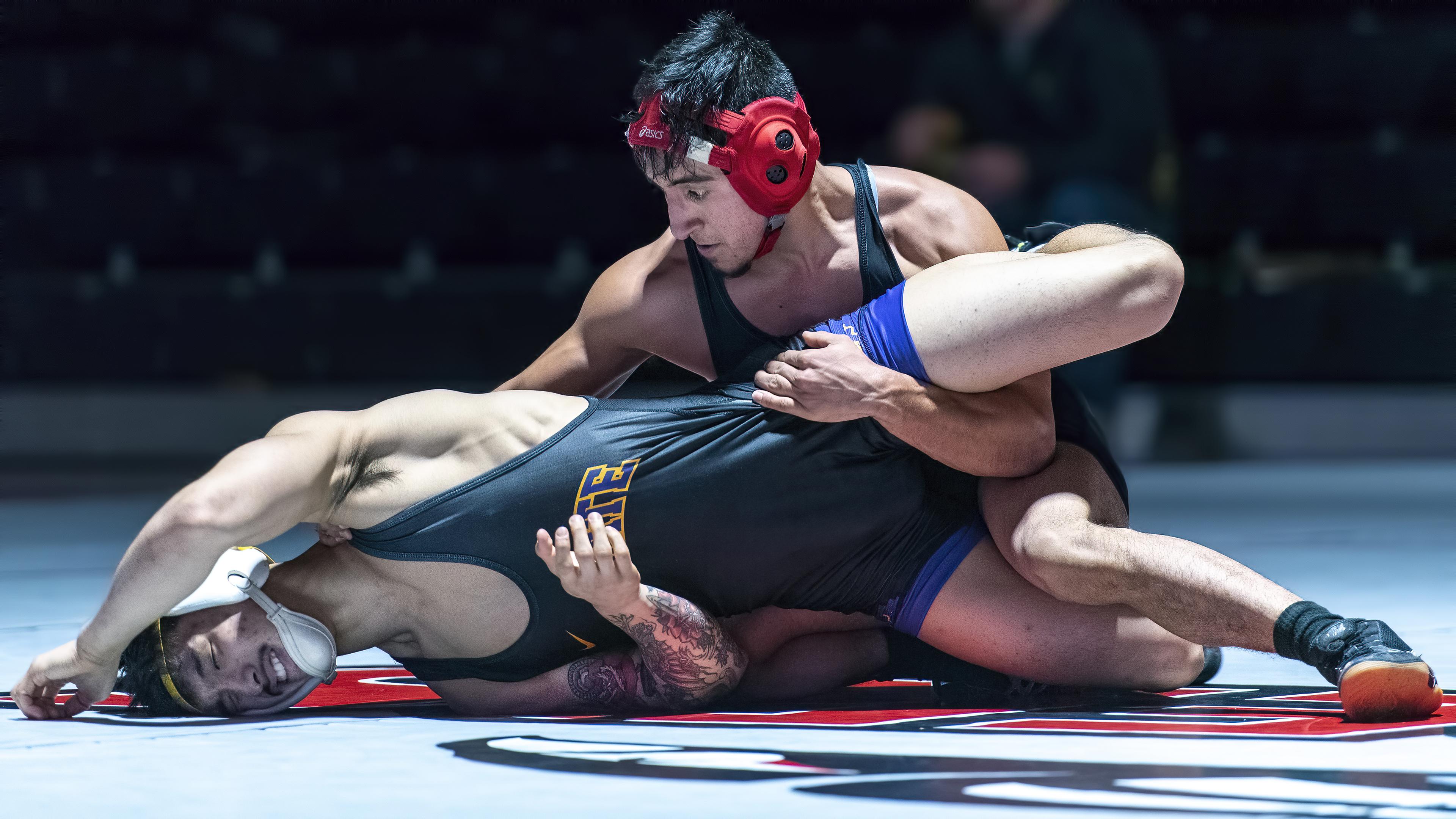 sou mens wrestling Pancho Barrera