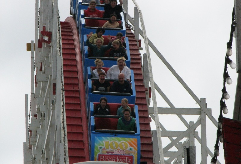 big dipper roller coaster santa cruz beach boardwalk
