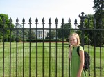 Ellie at the White House
