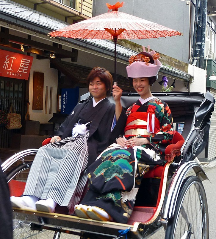 japanese wedding party groom bride miyajima japan