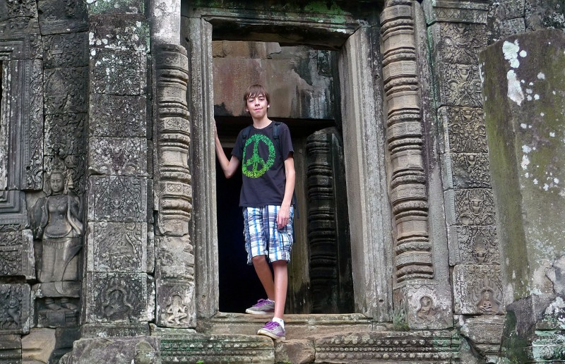 ryan case at Angkor Thom cambodia