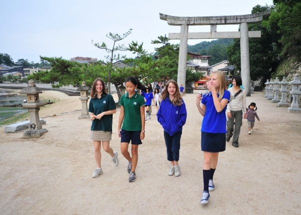 ellie case in hiroshima with tokyo international school