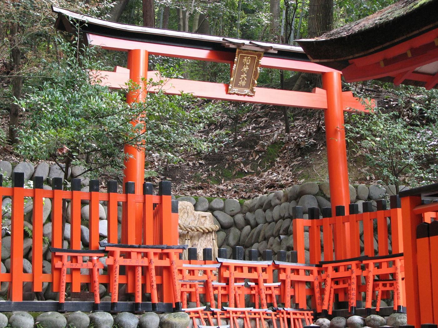Fushimi Inari Taisha 伏見稲荷大社 torii 鳥居