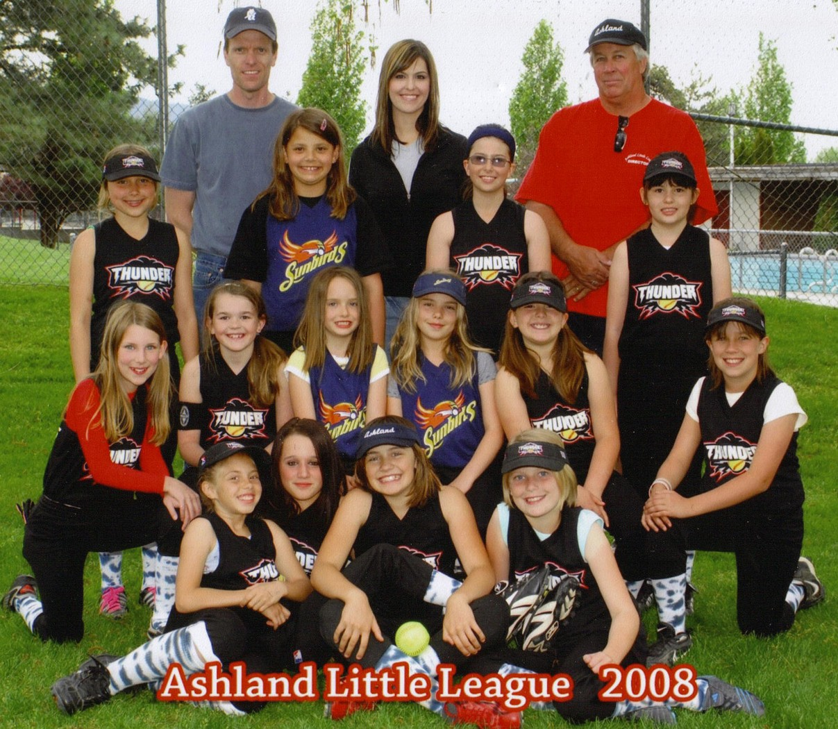 Team Picture Ashland Oregon Little League
