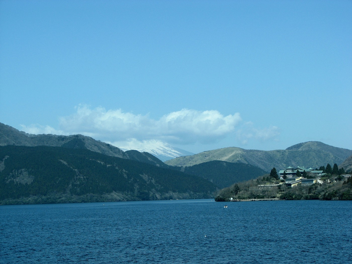 ashinoko Lake Ashi hakone japan mt. fuji