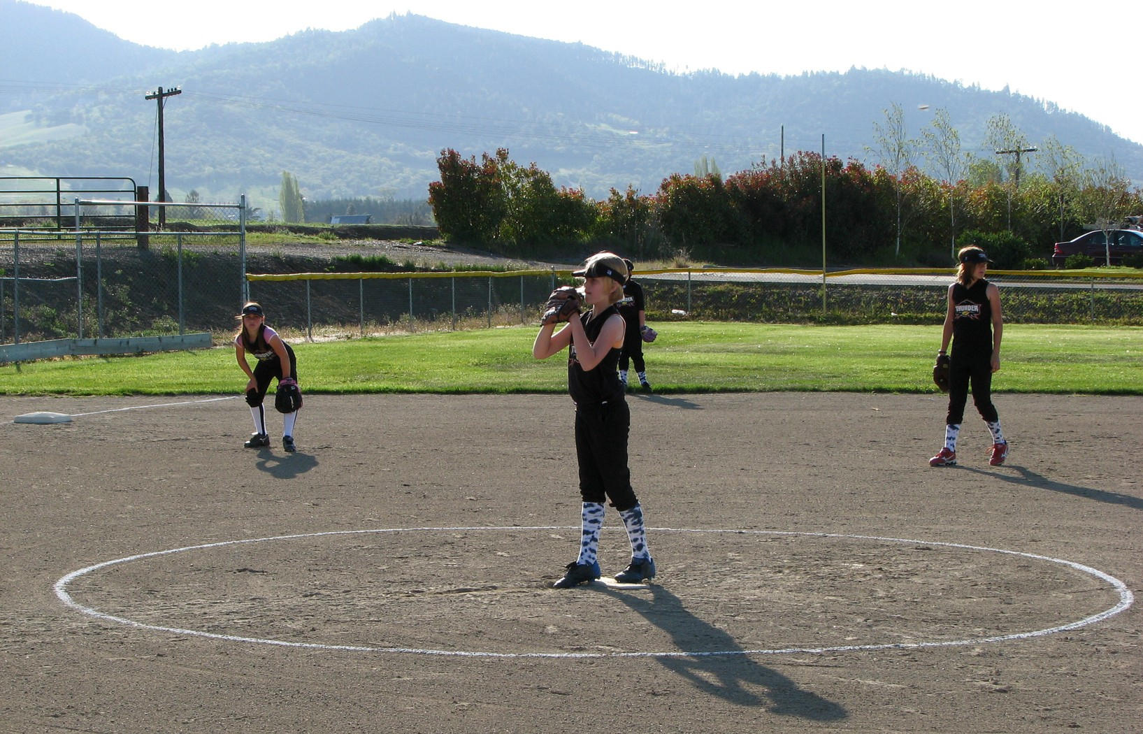 Pitching Ashland Oregon Little League