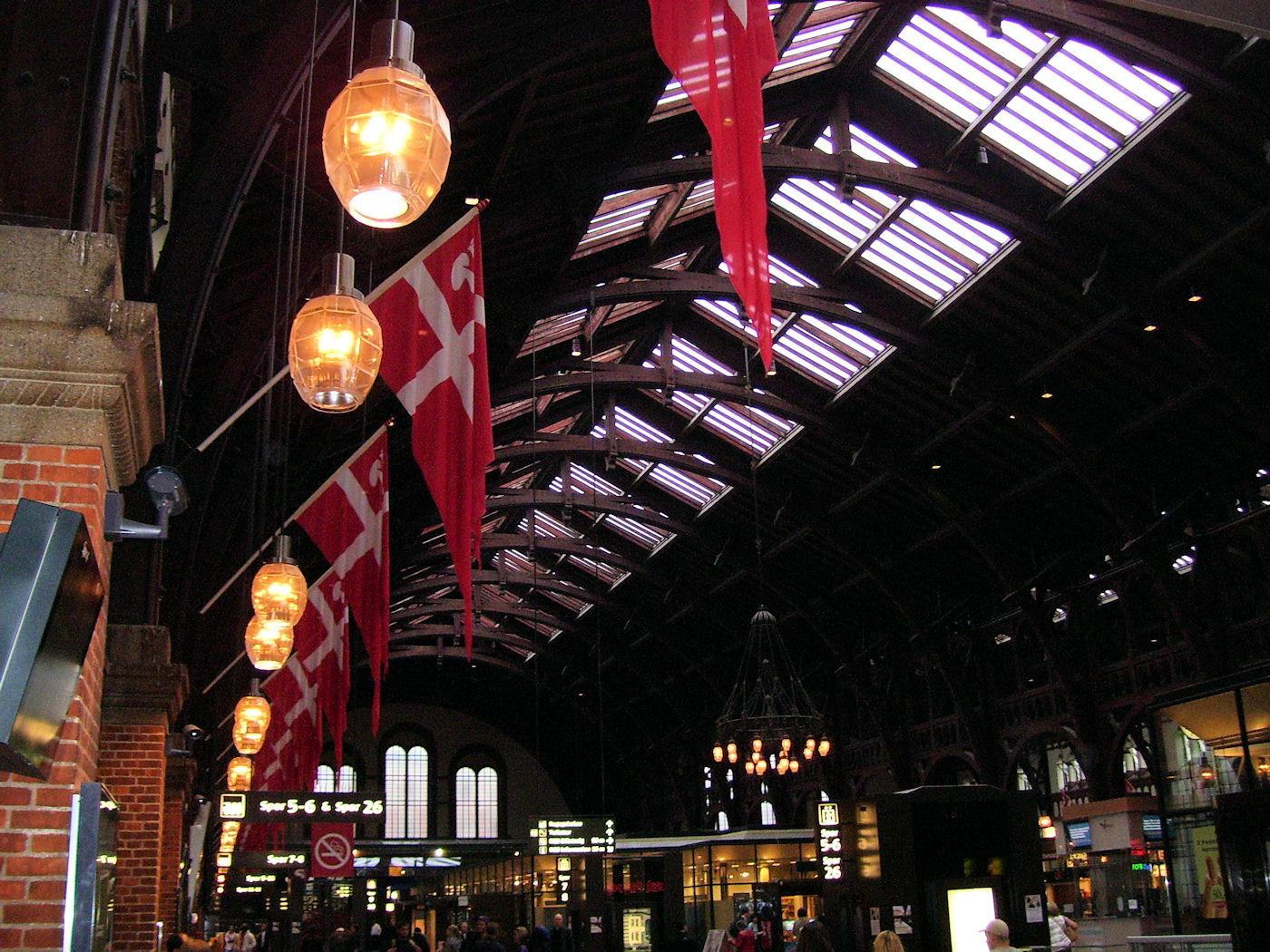 copenhagen train station interior