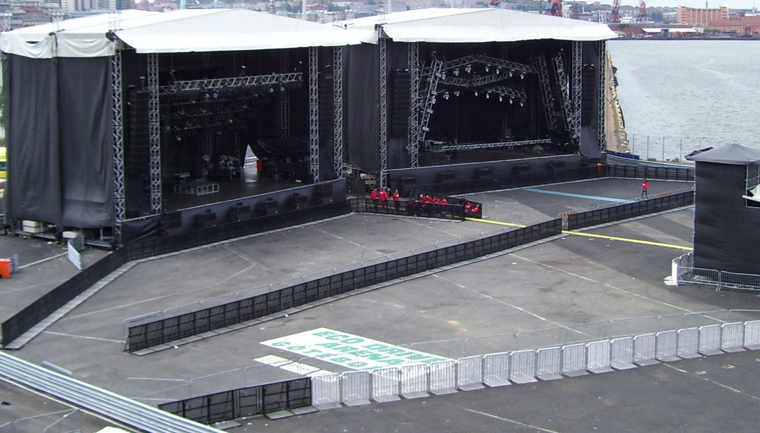 stages at metaltown in goteborg sweden