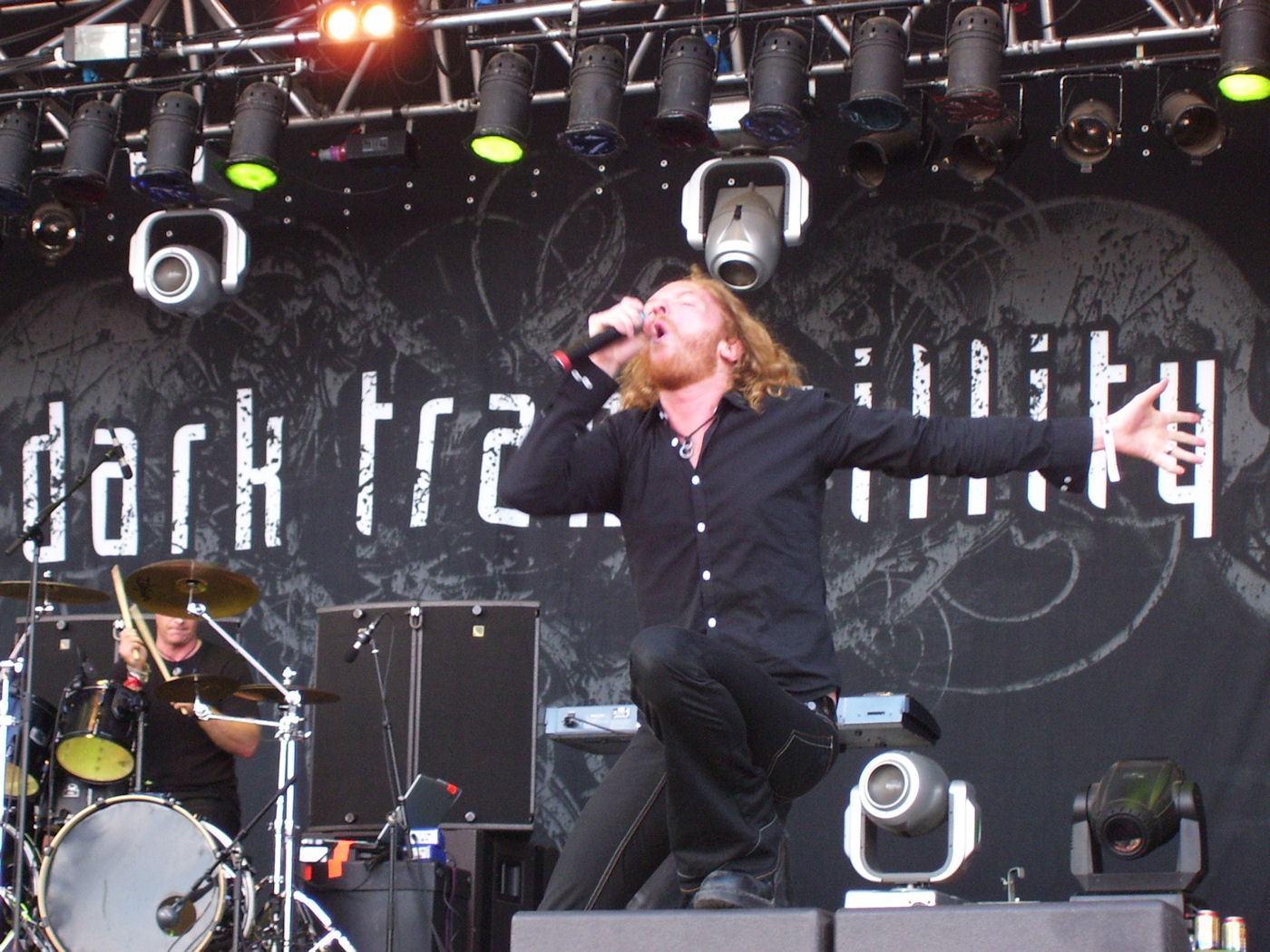 Dark Tranquility at Metaltown 2008