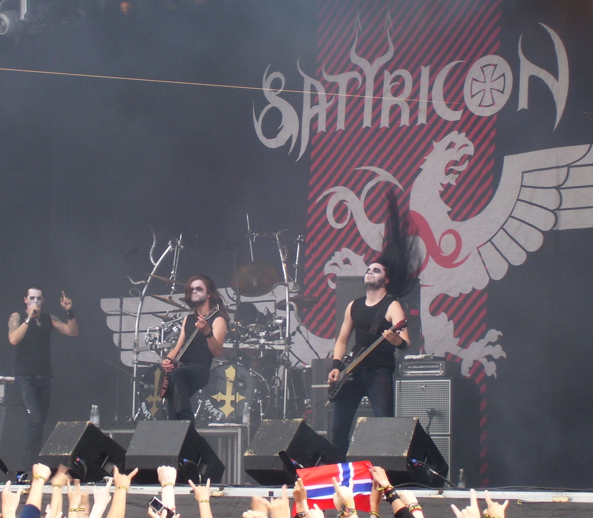 Satyricon at Metaltown 2008