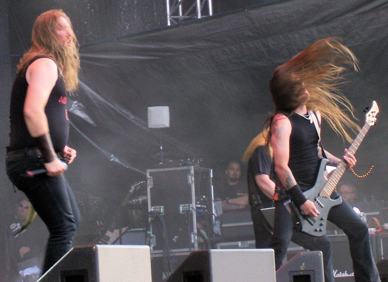 Amon Amarth gothenburg sweden 2008