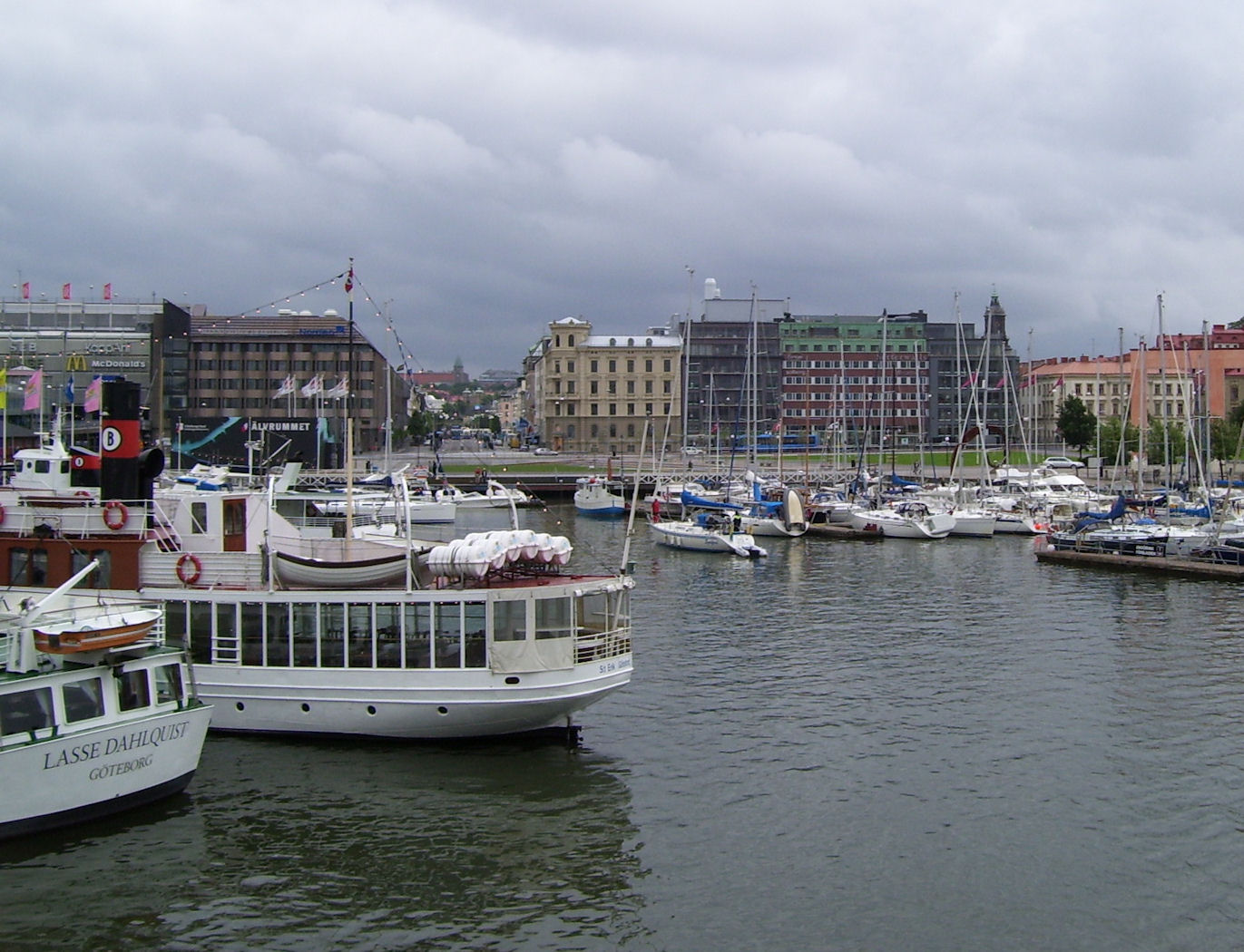 Gothenburg Sweden harbor